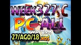 Angry Birds Friends Tournament All Levels Week 327-C PC Highscore POWER-UP walkthrough