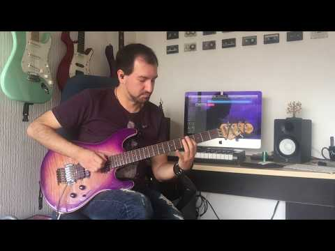 Frank Gambale 'My Little Viper' Guitar Performance by Andrés Cabrera
