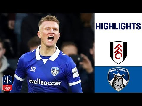 League Two Minnows Leave Fulham Stunned   Fulham 1-2 Oldham   Emirates FA Cup 18/19