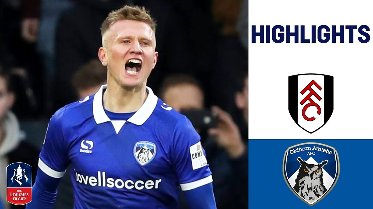 League Two Minnows Leave Fulham Stunned | Fulham 1-2 Oldham | Emirates FA Cup 18/19