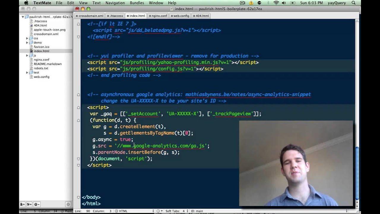 BOILERPLATE HTML5 EPUB