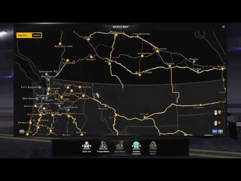 American Truck Simulator 1 35 Map Mods June 2019