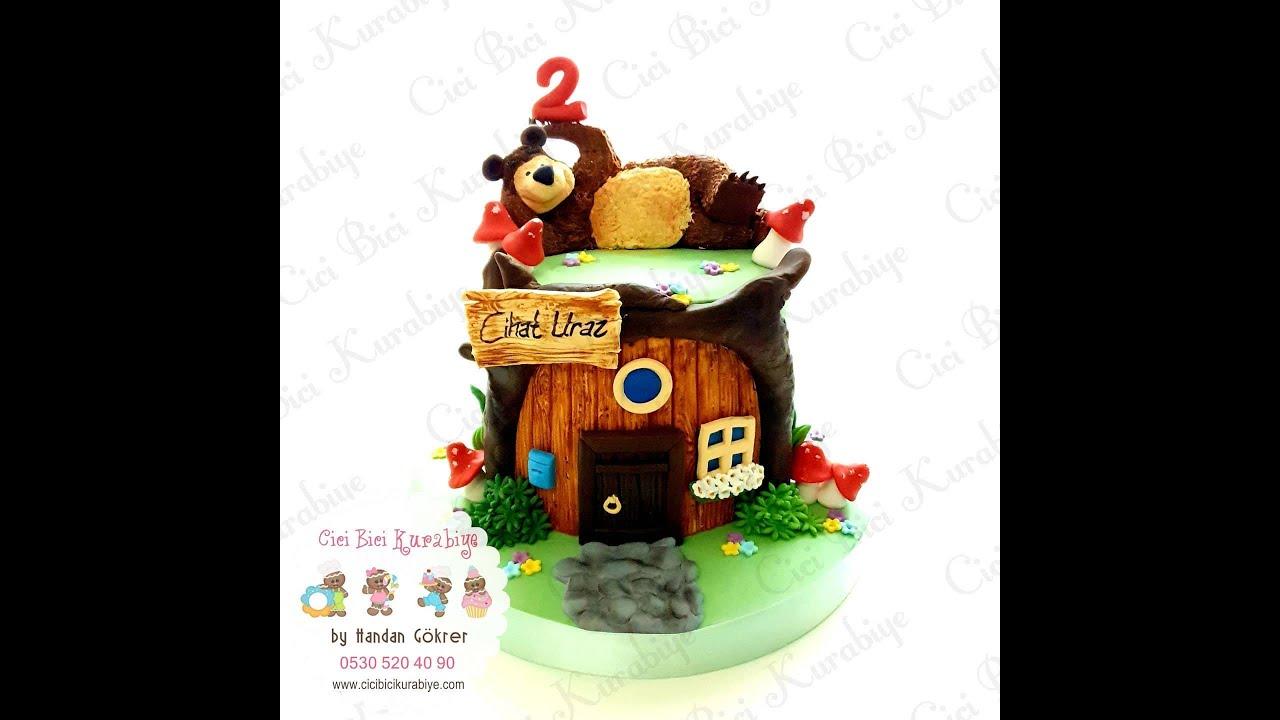 Furry Bear Cake Tutuorial