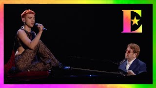 Elton John and Years & Years - It's a Sin (BRIT Awards 2021 Performance)