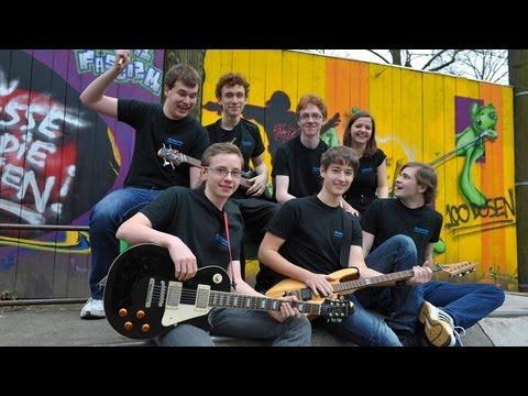 """Abschied der Band KlangKult von der Musikschule """"Bertheau & Morgenstern"""" 2012"""