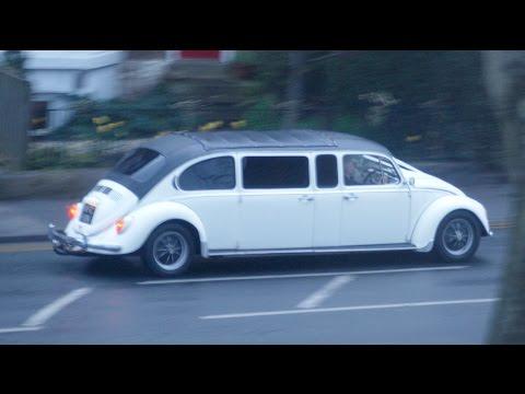 VW BEETLE LIMO CUSTOM AND CAMPER VAN