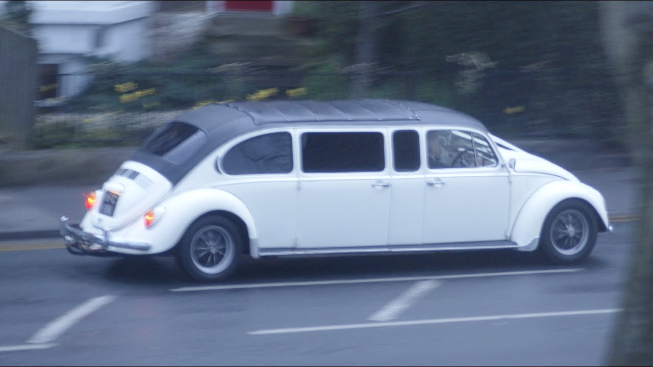 vw beetle limo custom  camper van youtube