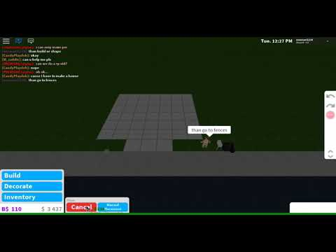 How To Build A Parking Lot In Welcome To Bloxburg Youtube