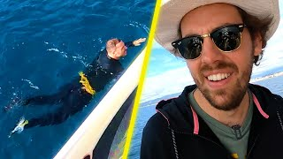 Pierre sauve Ben de la noyade en pleine mer !