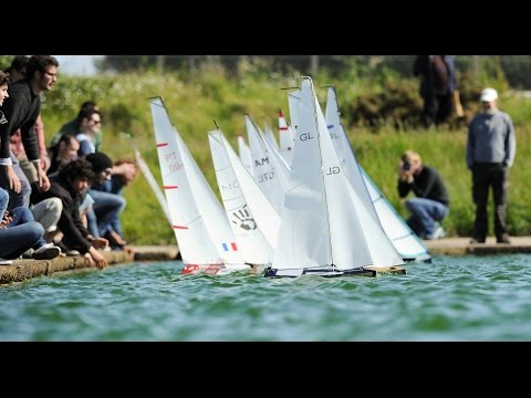 Southampton Solent University annual model yacht race (2015)