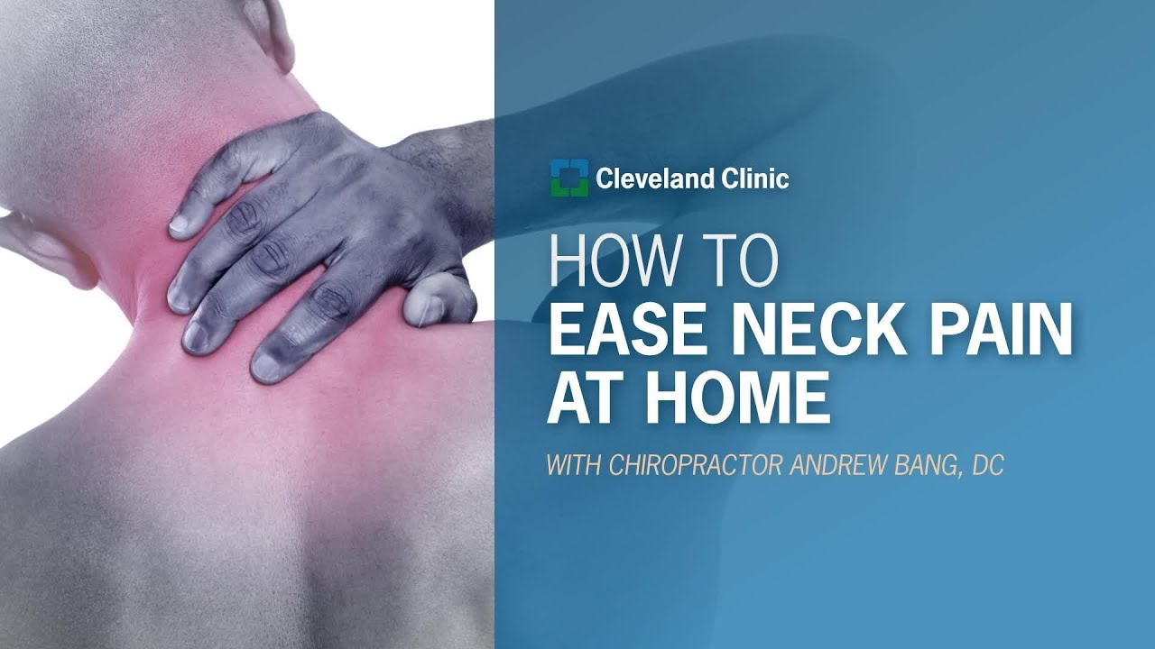 Download How to Ease Neck Pain at Home