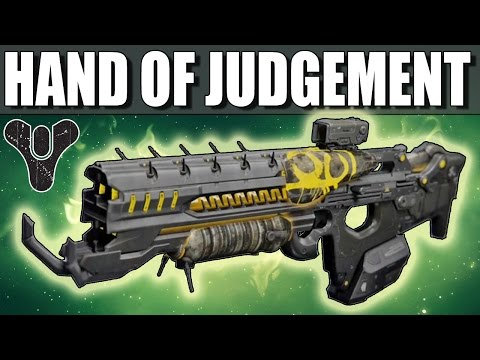 Destiny: HAND OF JUDGEMENT REVIEW! (House of Judgement Weapon)