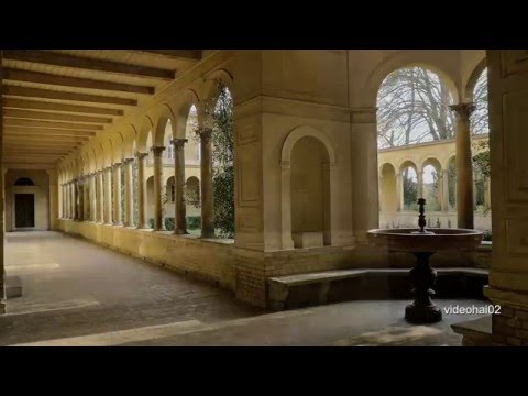 4K Potsdam Sanssouci     Friedenskirche -Schloss Marly und Garten