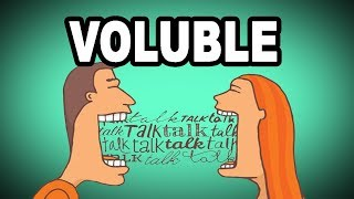 Learn English Words: VOLUBLE - Meaning, Advanced Vocabulary with Pictures and Examples
