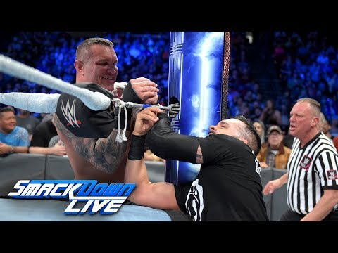 HINDI - Randy Orton viciously assaults Tye Dillinger: SmackDown LIVE, 2 October, 2018