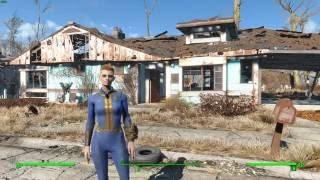Прохождение Fallout 4 все дополнения Far Harbor Моды режим выживание - серия 1
