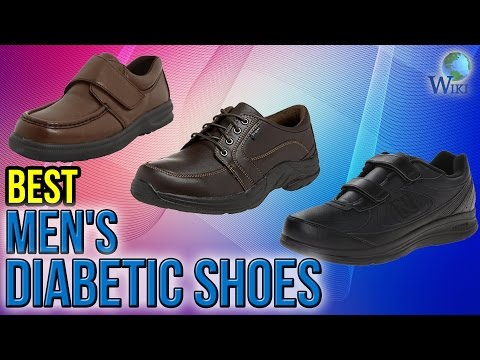 8 Best Men's Diabetic Shoes 2017
