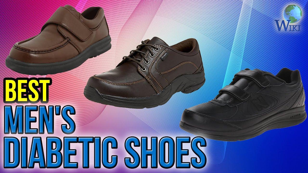 8 Best Men S Diabetic Shoes 2017 Youtube