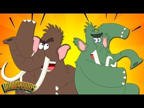 Woolly Mammoth Stampede - Woolly Mammoth And Giant Animal Songs By Howdytoons