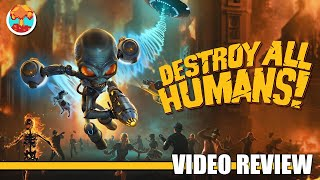 Review: Destroy All Humans! (PlayStation 4, Xbox One & Steam) - Defunct Games