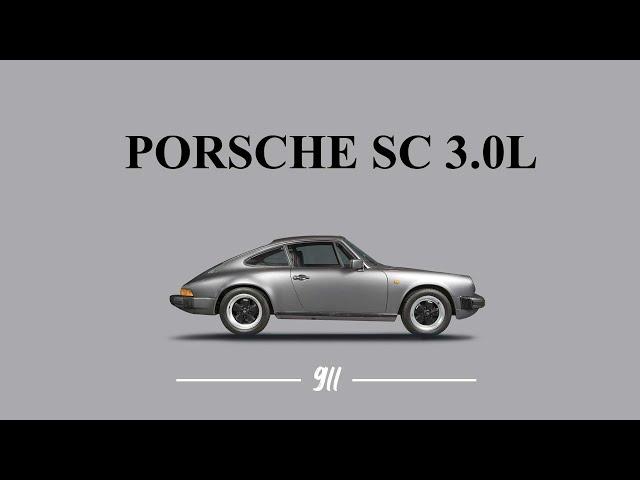 Porsche 911 SC 3,0L coupé série limitée Jubilé 200 exemplaires 1982