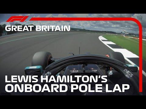 Lewis Hamilton's Pole Lap | 2020 British Grand Prix | Pirelli