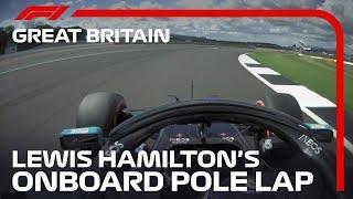 2020 British Grand Prix: Lewis Hamilton's Pole Lap | Pirelli