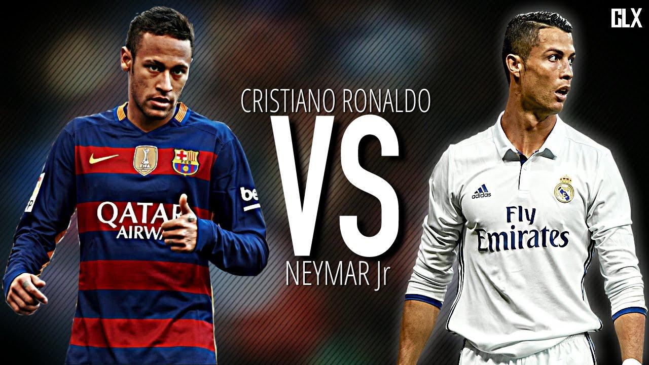 Cristiano Ronaldo vs Neymar Jr Masterpiece 2017 HD - YouTube
