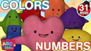 Color Song and Numbers Song | Cocomelon (ABCkidTV) Nursery Rhymes & Kids Songs