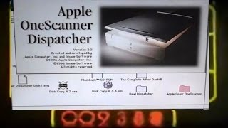 Apple Color OneScanner Part 2