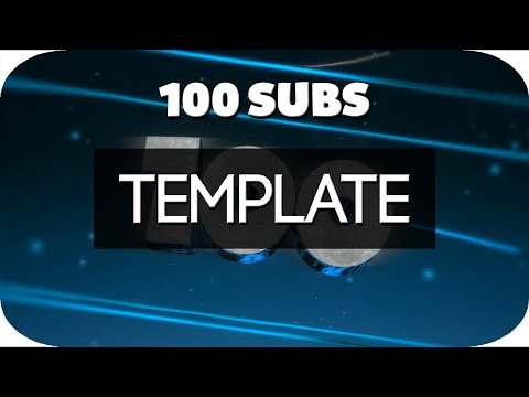 [100 SUBS TEMPLATE] THANK YOU!!! ♡ - 3D Part is the Template