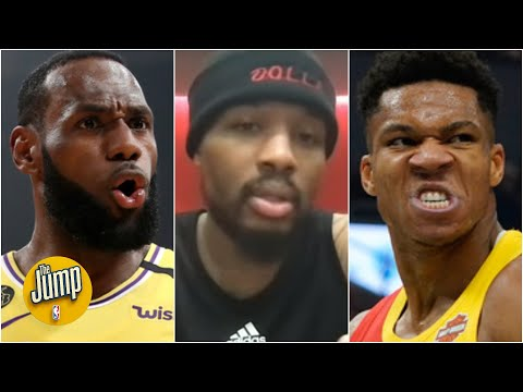 Reacting to Damian Lillard's LeBron vs. Giannis MVP pick | The Jump