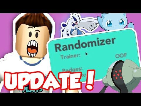 NEW RANDOMIZER MODE UPDATE IN PBB!! - Pokemon Brick Bronze