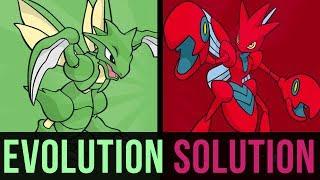 an evolution solution scyther or scizor