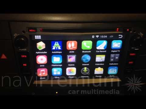 RADIO NAWIGACJA OPEL ANTARA, ASTRA, MERIVA ANDROID 4.4 DVD GPS