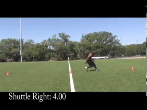 Brashaad Mayweather Football Drills