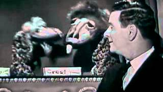VINTAGE CREST COMMERCIAL - NEWSMAN FRANK BLAIR & KUKLA & OLLIE (PUPPETS MINUS FRAN ALLISON)