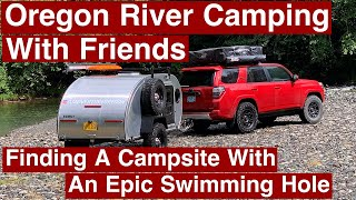 Oregon River Camping Wİth Friends