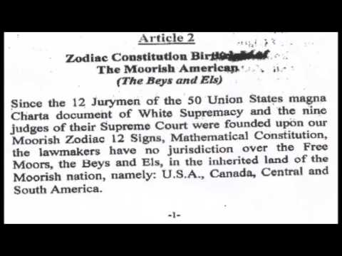 Moorish American [Surnames]: Zodiac Constitution - The Bey's & El's !