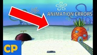 Spongebob Animation Errors That Slipped Through Editing