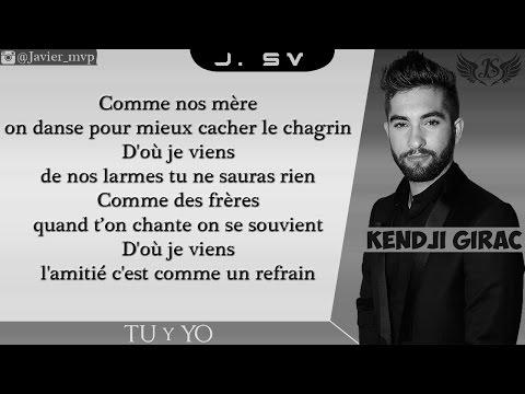 Kendji Girac - Tu y Yo (Audio+Paroles)|HD|2015