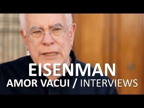 Amor Vacui / Interviews. PETER EISENMAN. 13th Architecture Biennale, Venezia 2012