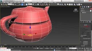 Autodesk 3ds Max 2014.Запись обучения. Урок 4