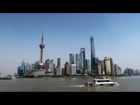20170415 上海外滩 Shanghai The Bund Yangtze River and The Barges