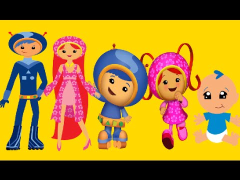 Finger Family Team Umizoomi | Nursery Rhymes for Children | Finger Family Kids Song