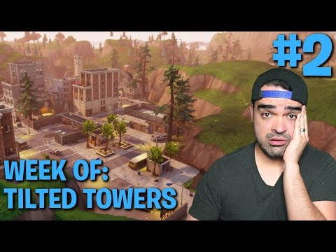 Fortnite Battle Royale Week of Tilted Towers #2 | Ride-Along (Tips and Tricks)