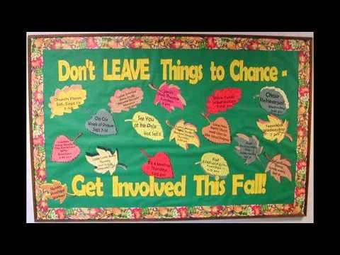 Fall bulletin board idea decoratings for teachers