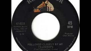 Hank Locklin ~ Followed Closely By My Teardrops