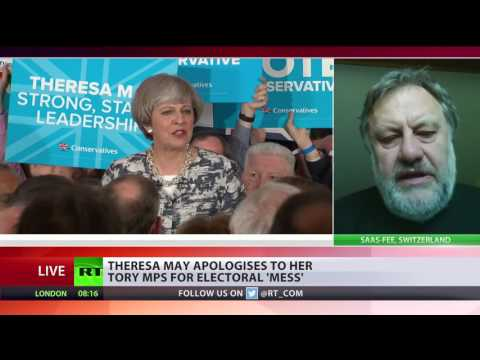 'True political miracle': Slavoj Žižek on UK General Election outcome