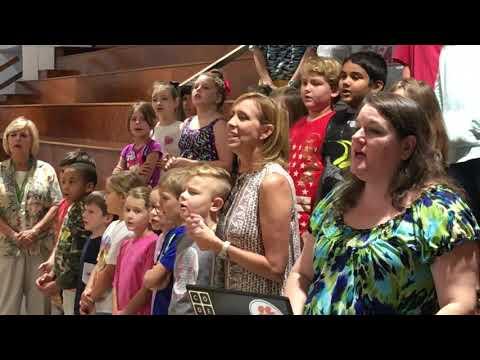 "Clarendon Hall School Elementary Chapel: ""Lion & the Lamb"" Student Praise Band"